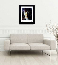 "Mick Jagger art print ""Poetic Secrets"" lep home"