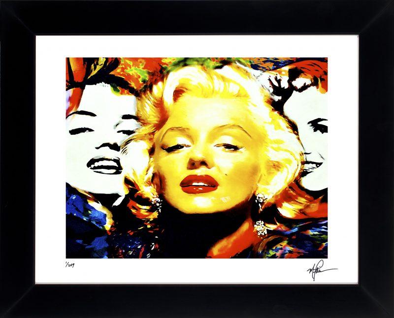 Marilyn Monroe art print framed painting fantastic wall decor | Mark ...