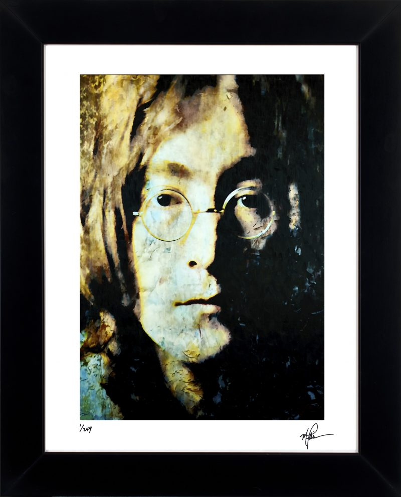 John Lennon Art Print Framed Devine Painting Wall Decor Mark Lewis Art