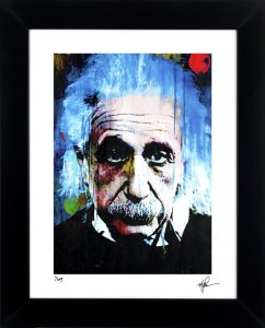 Questioning Tomorrow Albert Einstein Front