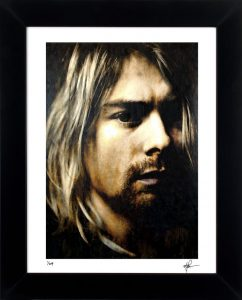 Kurt Cobain As Darkness Fell LEP Front