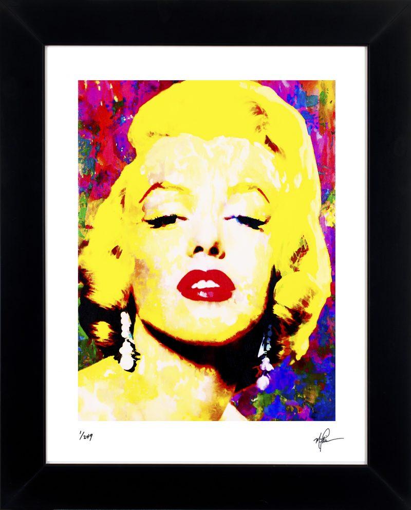 Marilyn Monroe art print framed painting artistic wall decor | Mark ...