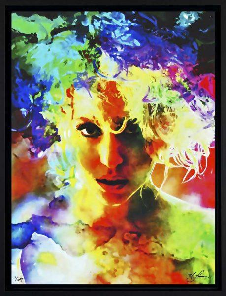 """Lady Gaga """"Lady Gaga Study 1"""" leg front1"""