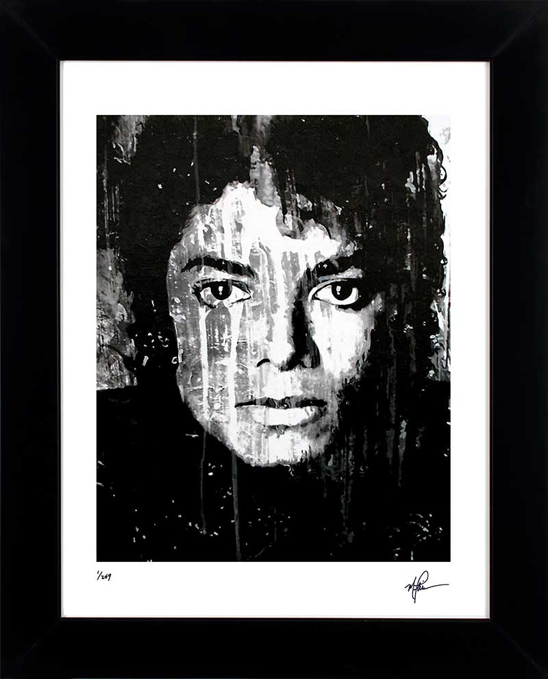Michael Jackson Art Print Framed Outstanding Painting Wall Decor